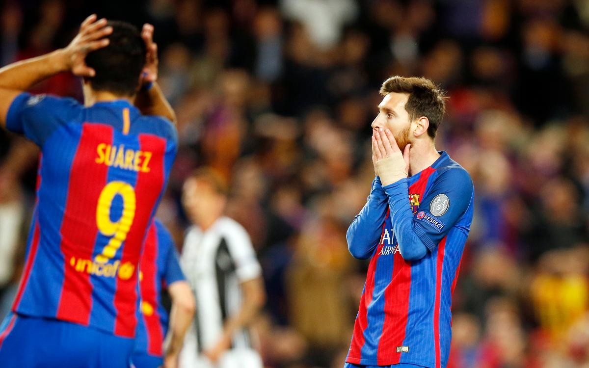 FC Barcelona 0-0 Juventus: Access denied
