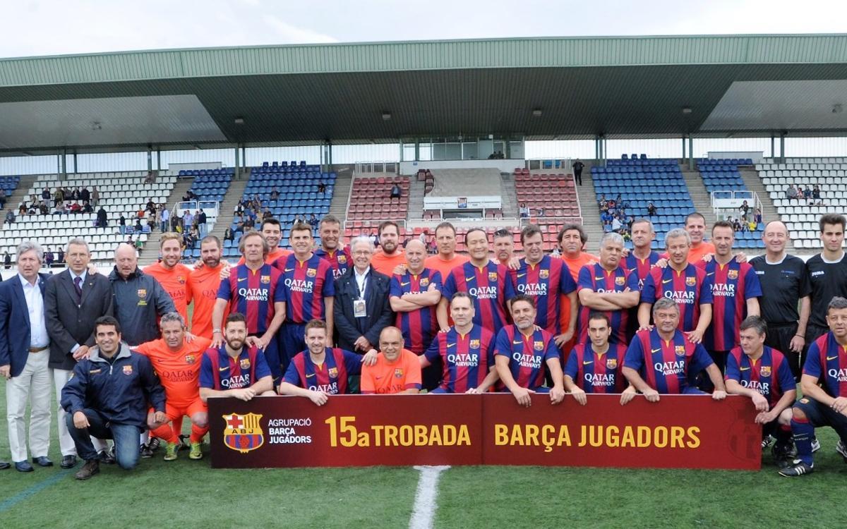La 15ª Trobada de Jugadors culmina la Setmana Barça Jugadors en Figueres