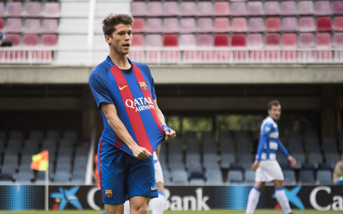 FC Barcelona B 2-0 AE Prat: Reserves clinch top spot