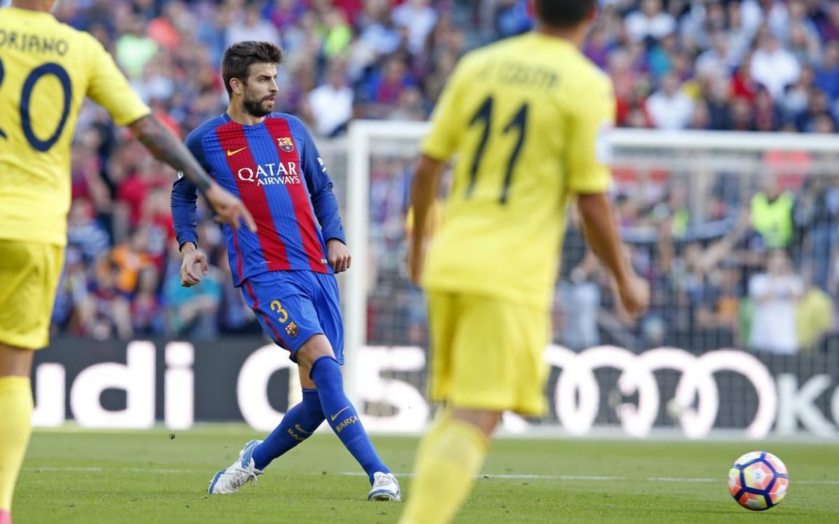Communiqué médical de Gerard Piqué, du FC Barcelone