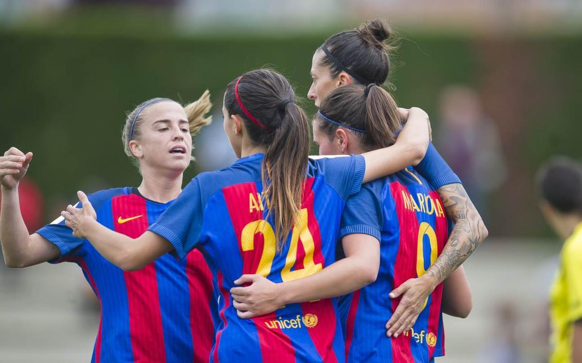 FC Barcelona Femení – Oiartzun: Golejada sense pietat (13-0)