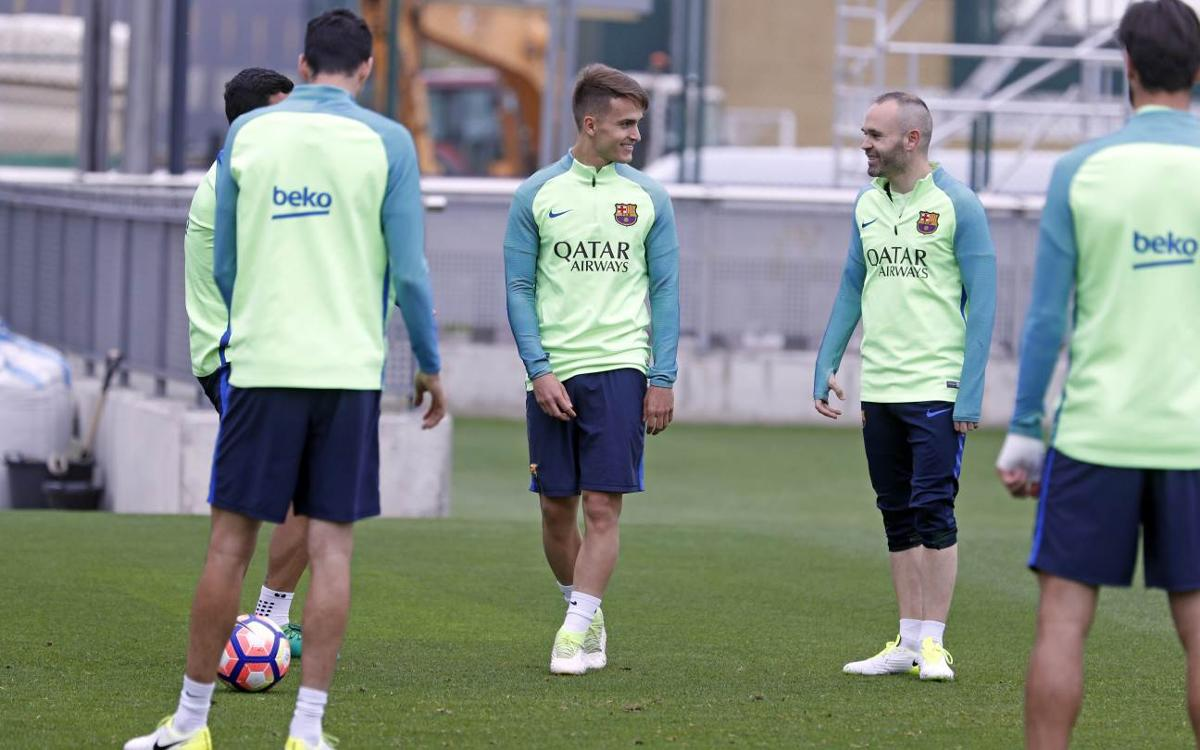 FC Barcelona return to training as preparations for Villarreal match begin