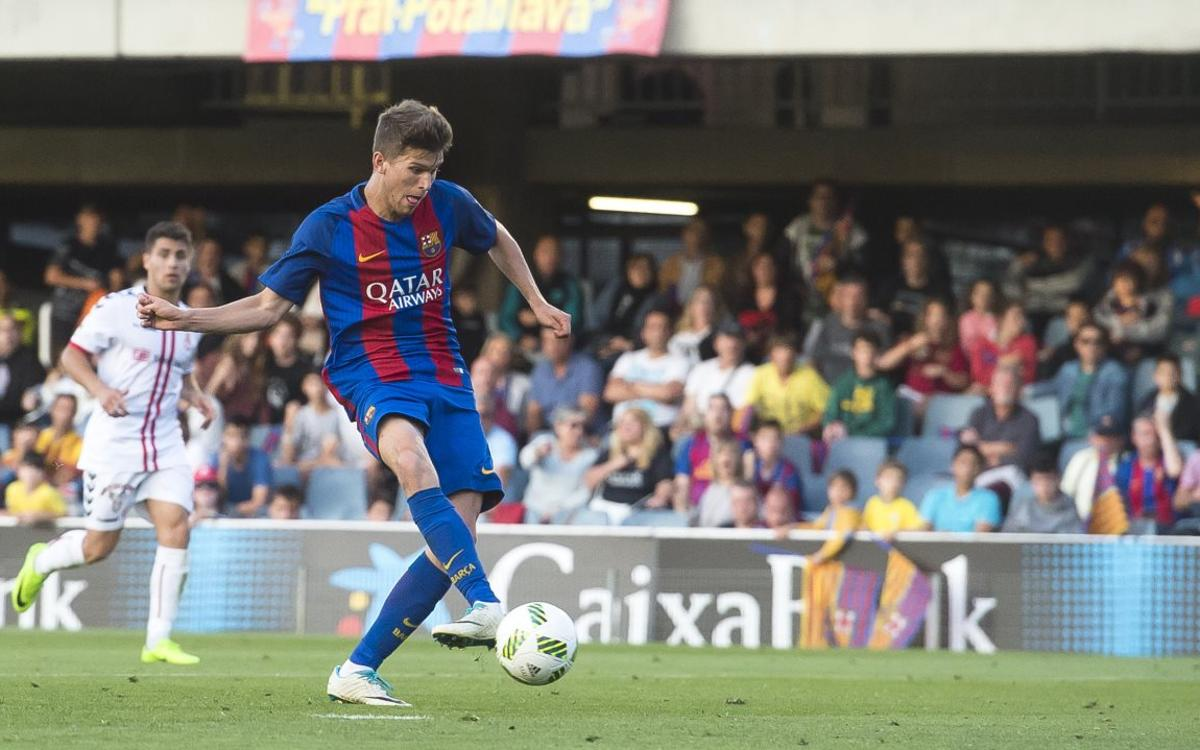 Barça B 0-2 Cultural Leonesa: Work to be done in the second leg