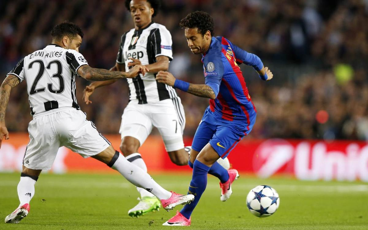 Champions League video highlights: FC Barcelona v Juventus