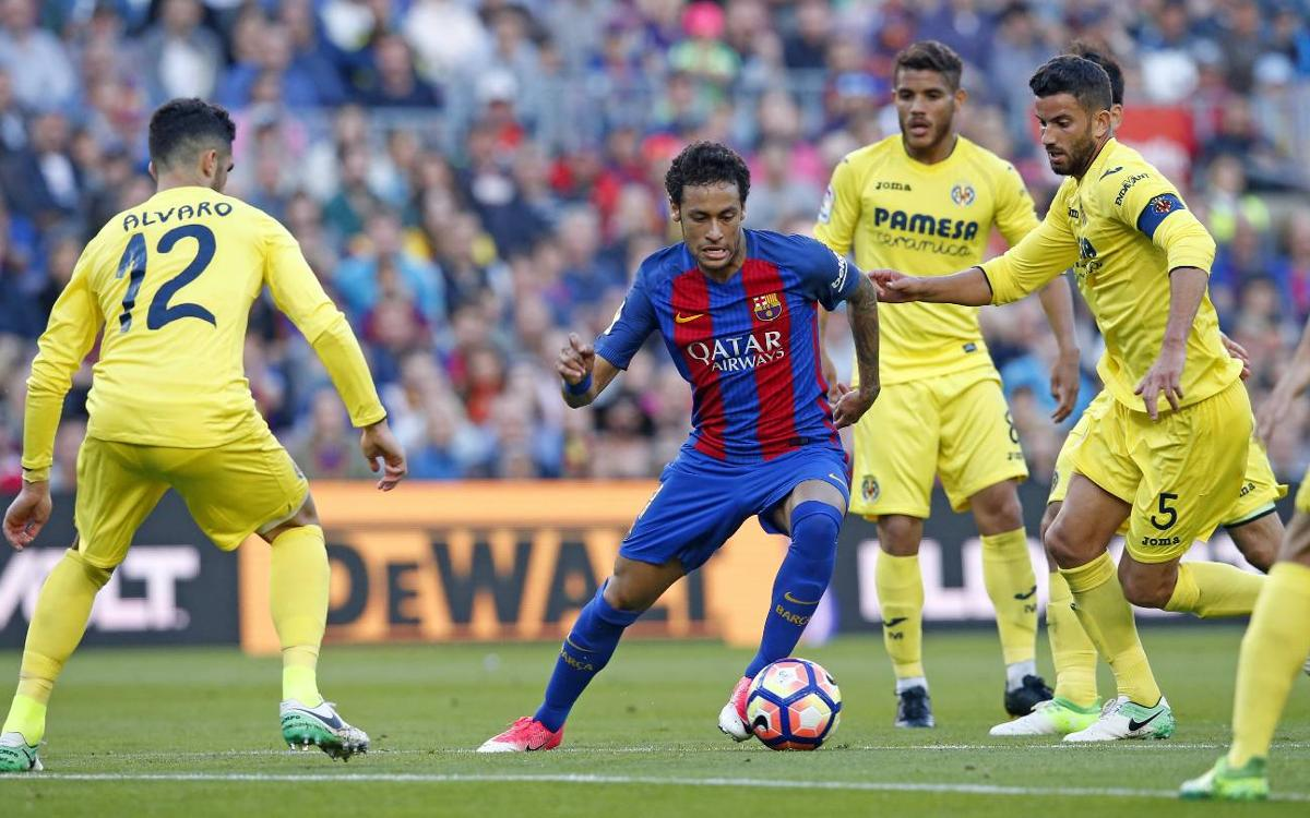 VIDEO - Le show de Neymar contre Villarreal