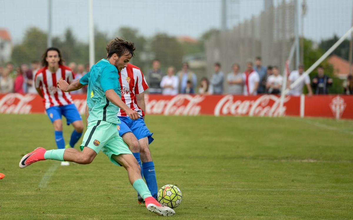 Sporting Gijón v FC Barcelona U19 A: Through to the quarter-finals (0-3)