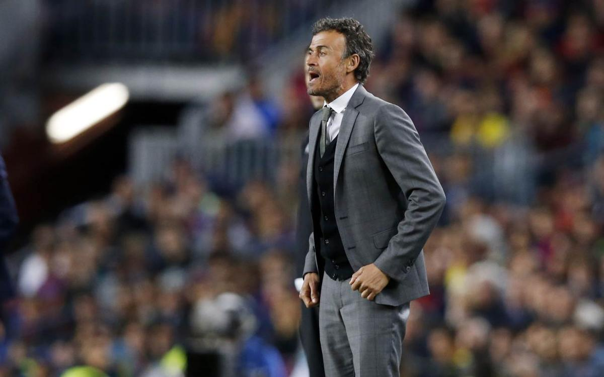 Luis Enrique postgame quotes: FC Barcelona 0–0 Juventus