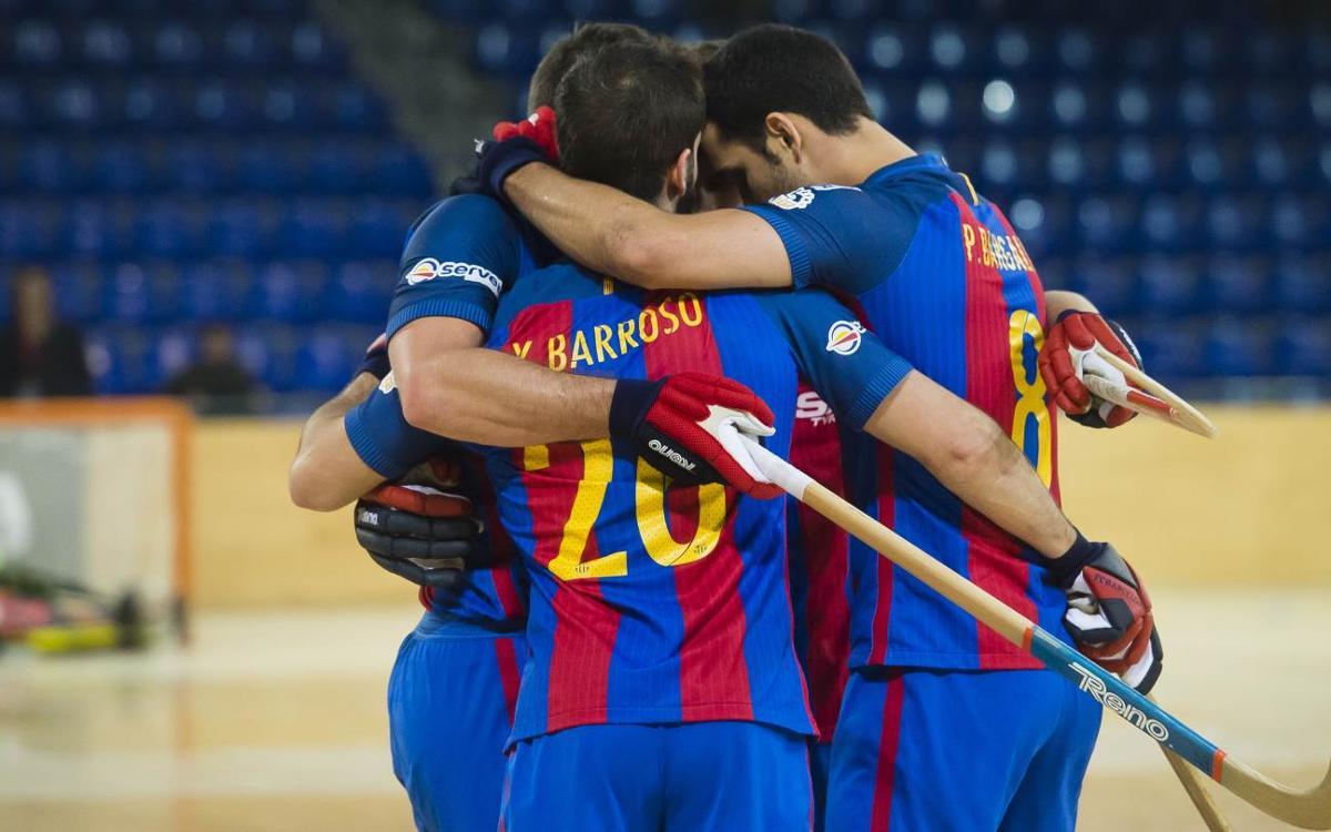 FC Barcelona Lassa - Cafès Novell Vilafranca: A un paso del título (7-1)