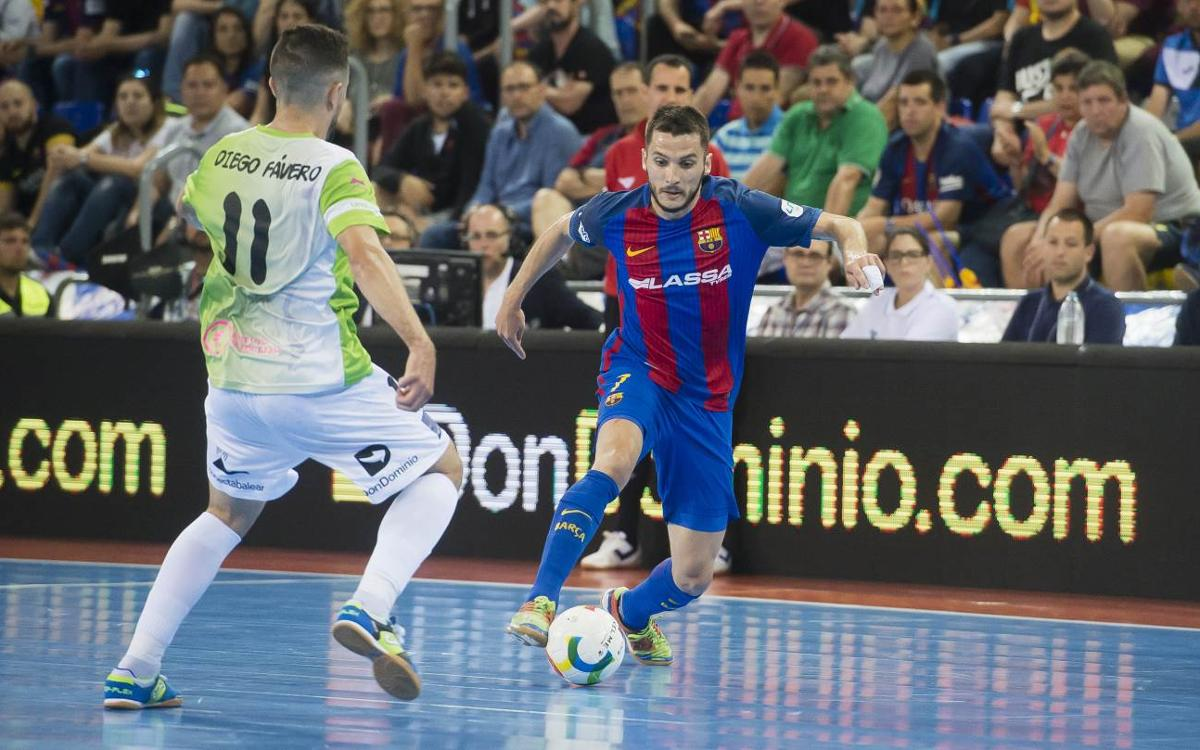 FC Barcelona Lassa – Palma Futsal: Solvencia para cerrar la serie (5-1)
