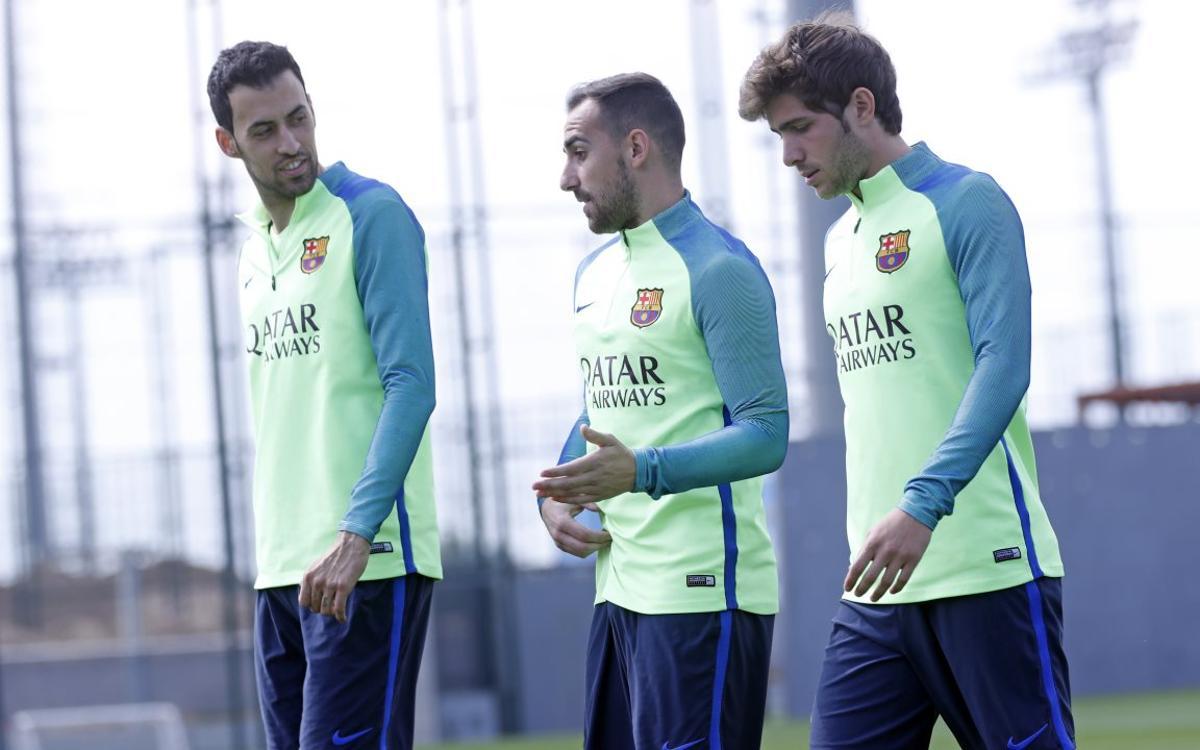 Continúa la preparación para el Villarreal