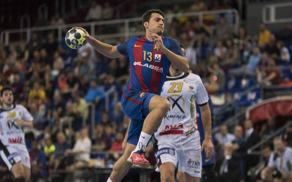 FC Barcelona Lassa – Ángel Ximénez-Avia Puente Genil: Continuen sumant (37-29)