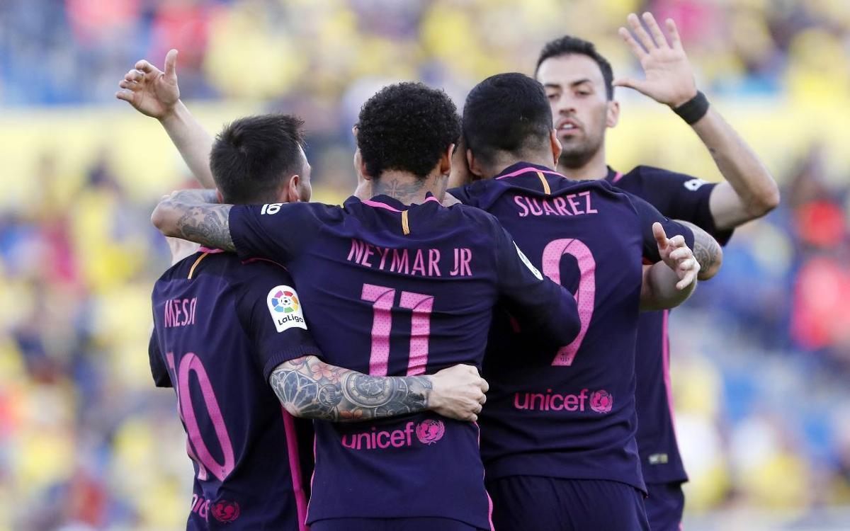 El FC Barcelona iguala la mejor racha de victorias de esta temporada