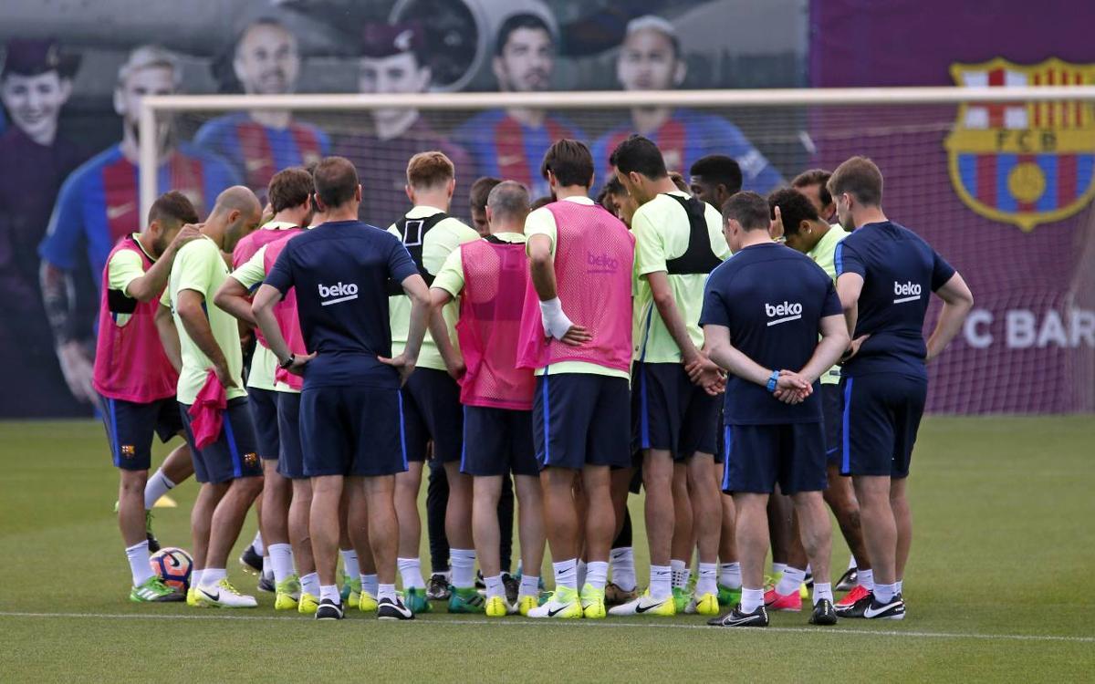 Le groupe du FC Barcelone convoqué pour le déplacement à Las Palmas