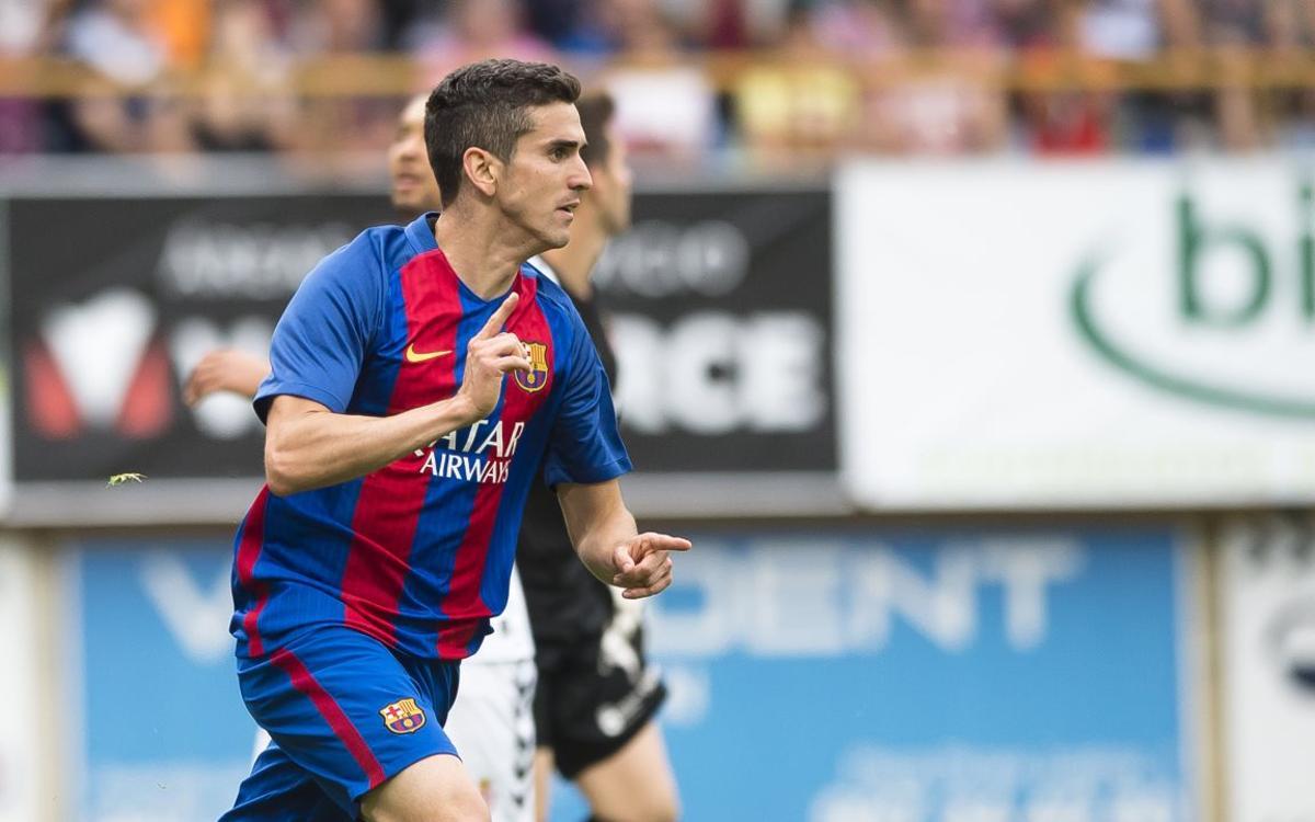 Cultural Leonesa - Barça B: Se alarga el camino del ascenso (2-1)