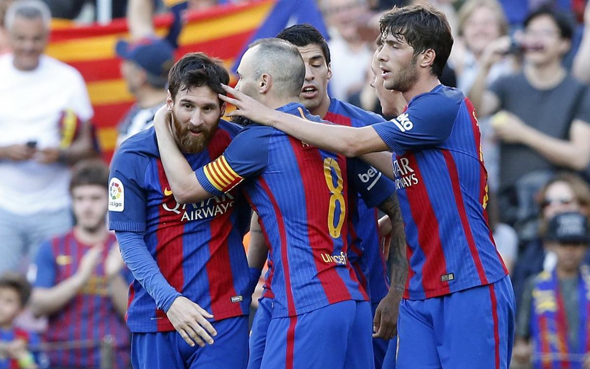 Messi's audacious penalty kick caps highlight-reel buildup