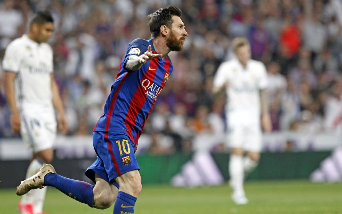 Leo Messi reaches 500 goals for FC Barcelona