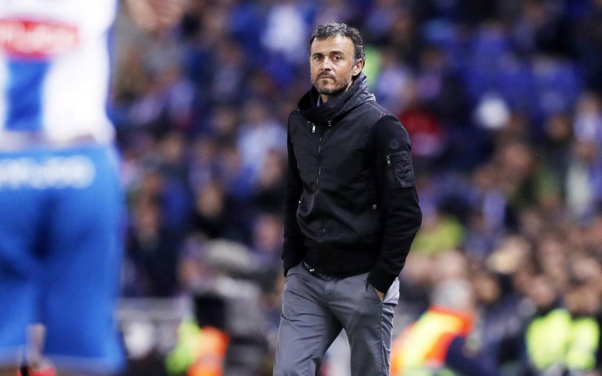 Luis Enrique postgame quotes: RCD Espanyol 0–3 FC Barcelona