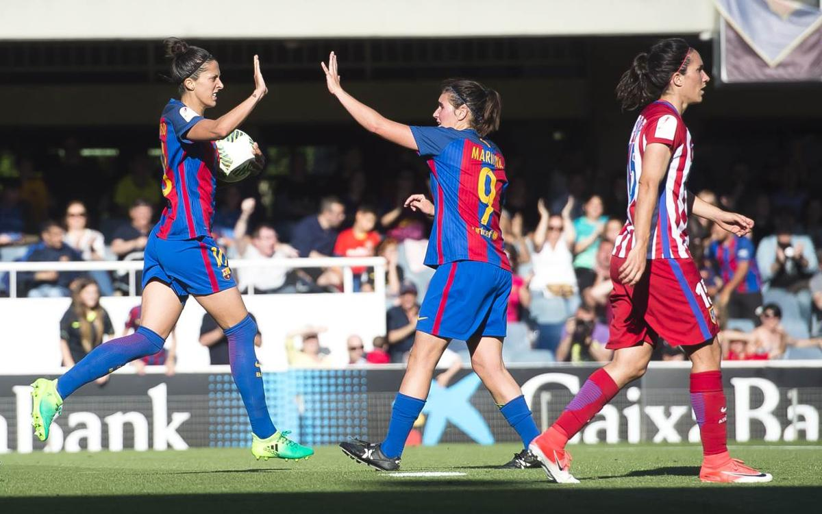 FC Barcelona Women v Atlético Madrid: Unable to capitalise (1-1)
