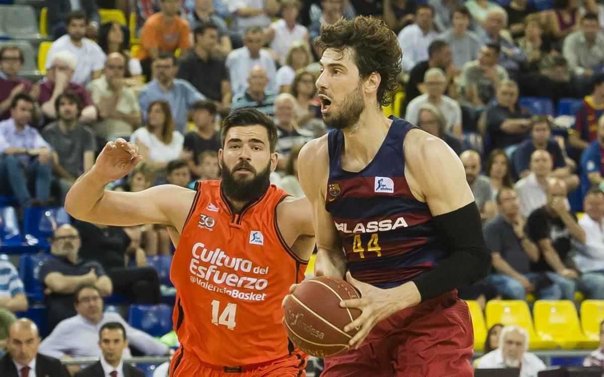 València Basket -FC Barcelona Lassa: Les semifinals passen per la Fonteta