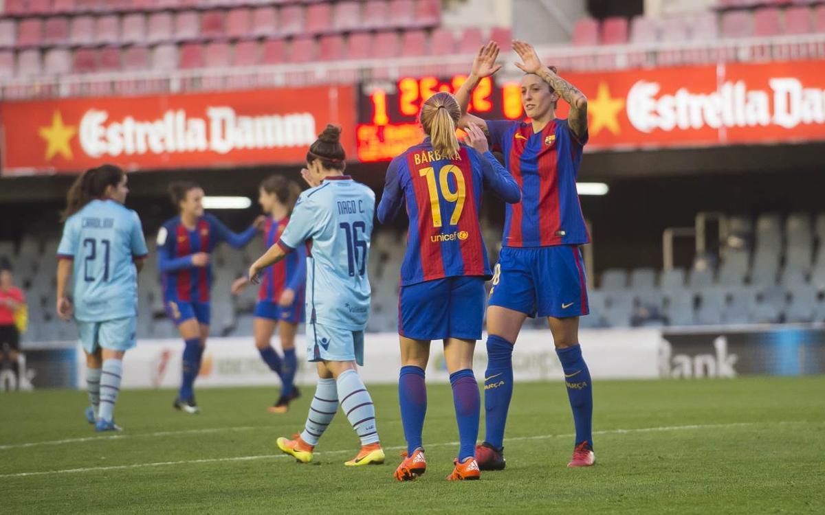 La Lliga femenina es decidirà dissabte al migdia