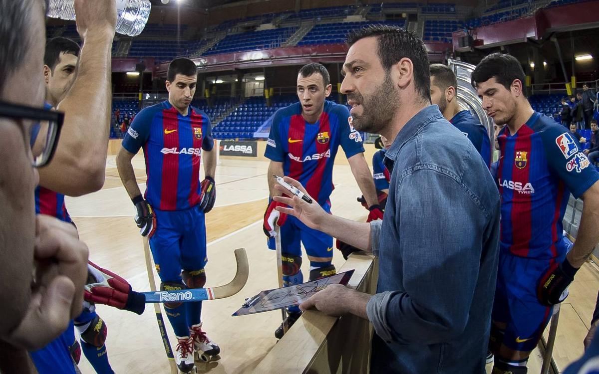 Ricard Muñoz arribarà als 200 partits amb el Barça Lassa a Reus