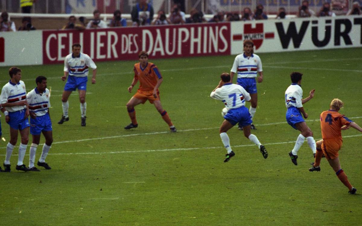 'Wembley, 92. Fue mítico', el documental del 25 aniversario