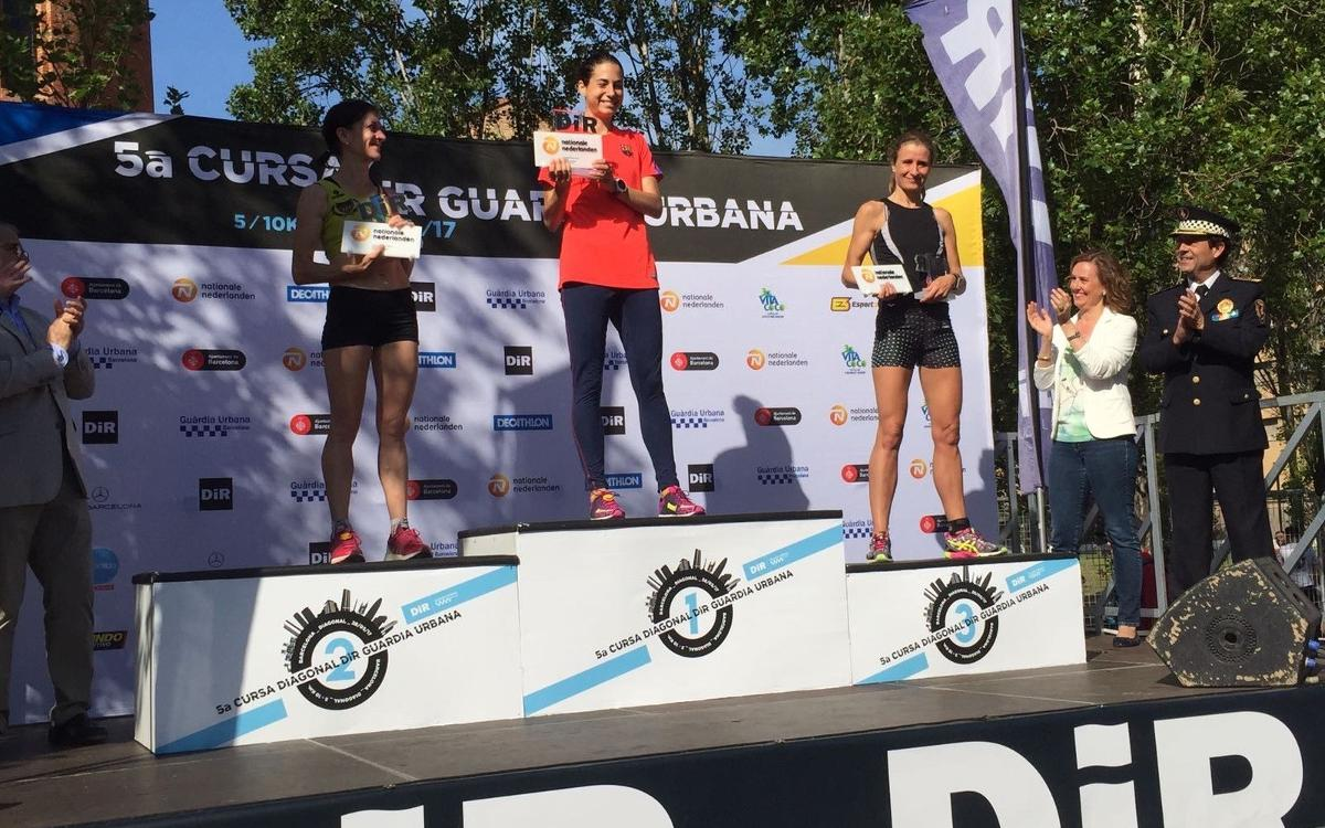Marta Galimany gana la 5ª Cursa DIR Diagonal / Guardia Urbana