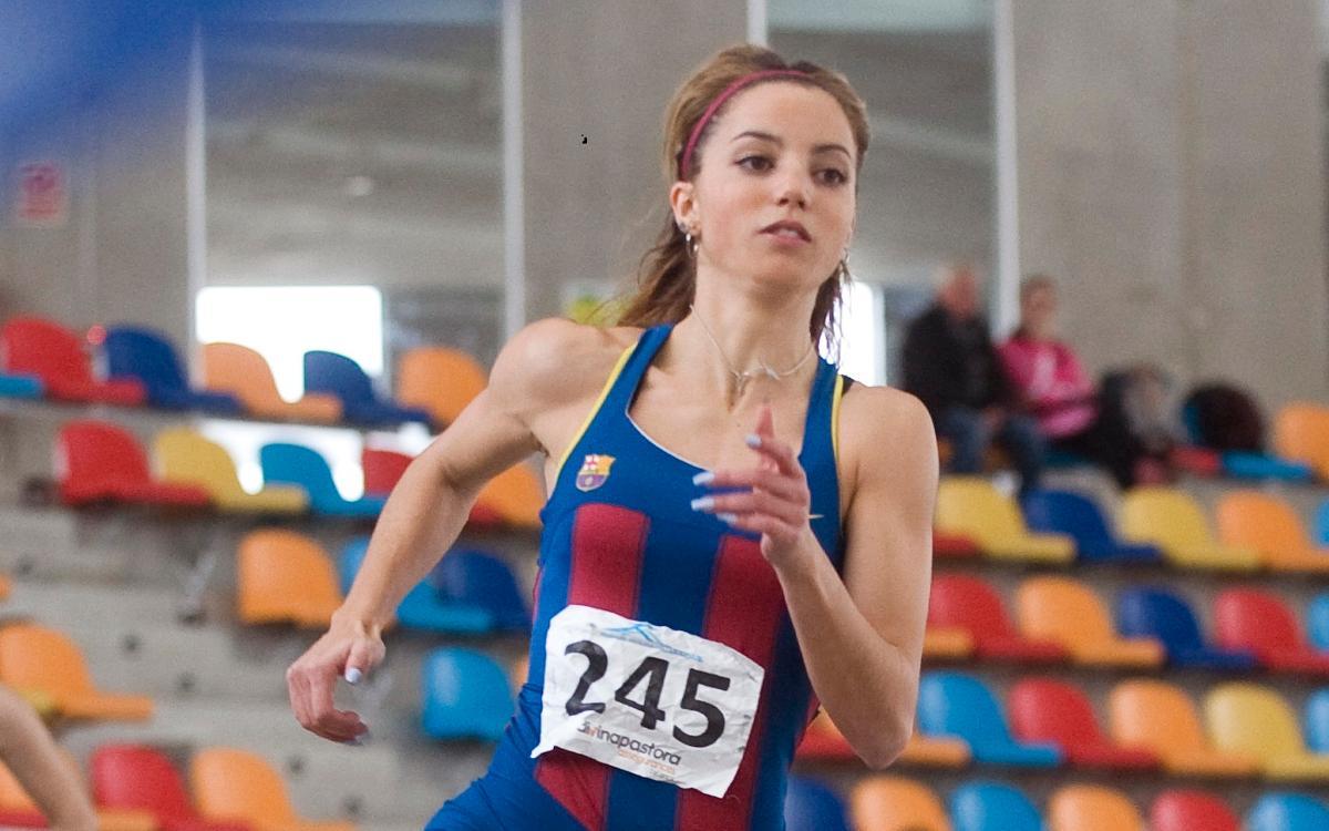 Carmen Sánchez, rècord de Catalunya de 400 metres