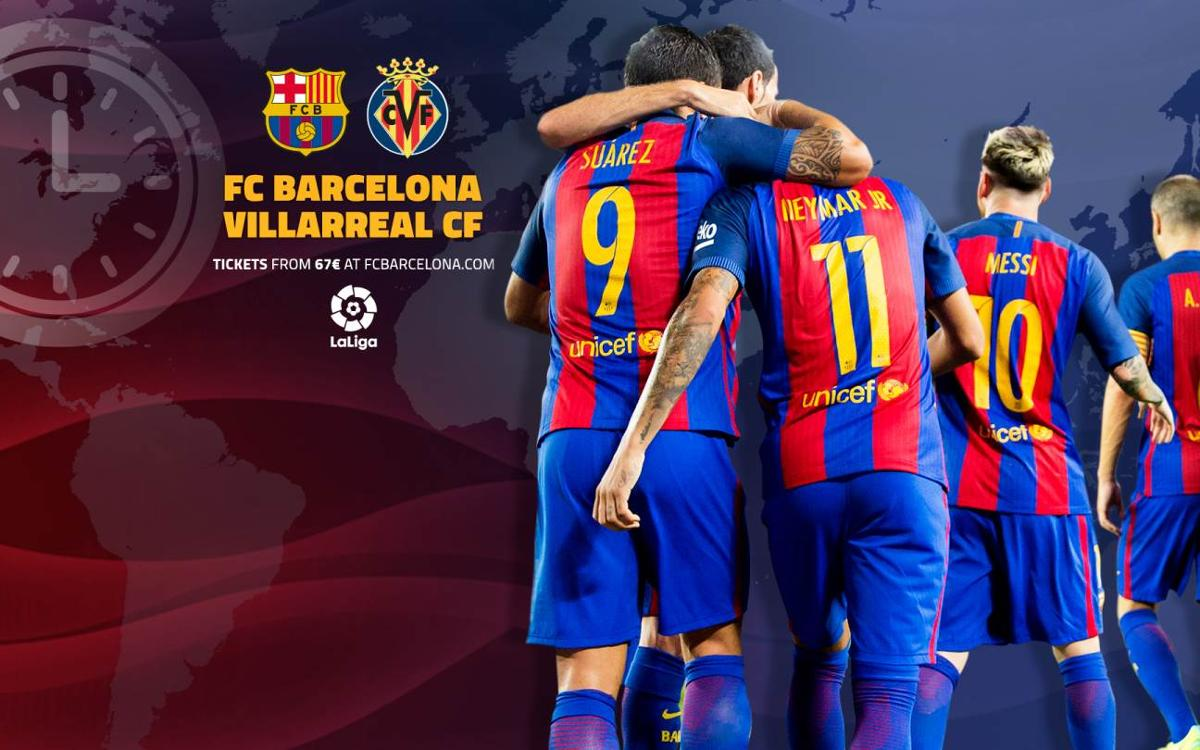 When and where to watch FC Barcelona v Villarreal