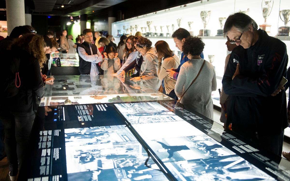 El Museu del Barça rep 3.466 visitants durant la Nit dels Museus