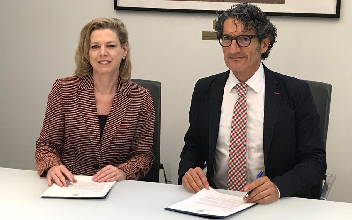 El FC Barcelona i la universitat de Georgetown firmen un acord de col·laboració
