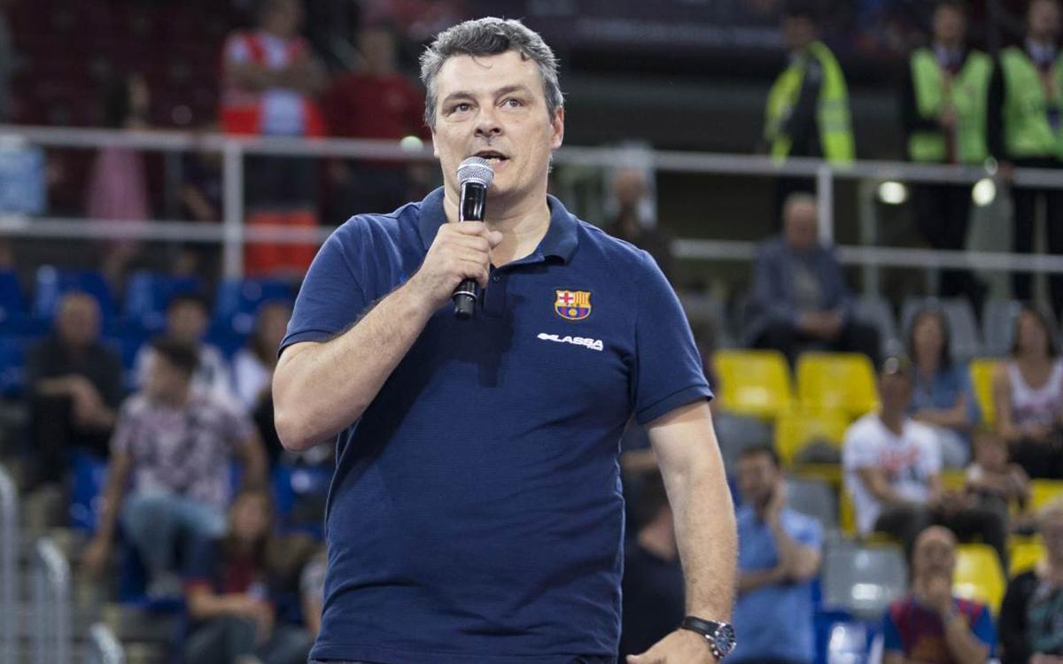"""Xavi Pascual: """"L'últim partit al Palau sempre és emotiu"""""""