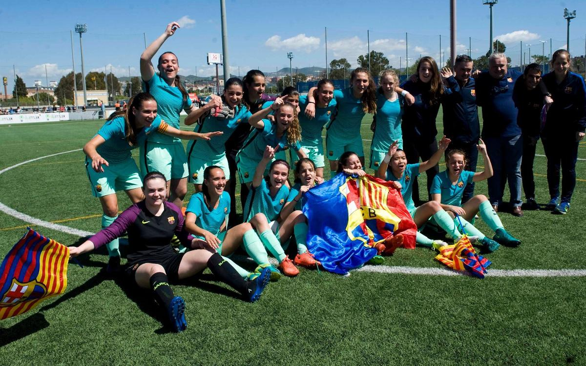 ¡El Juvenil-Cadete, campeón de Liga!