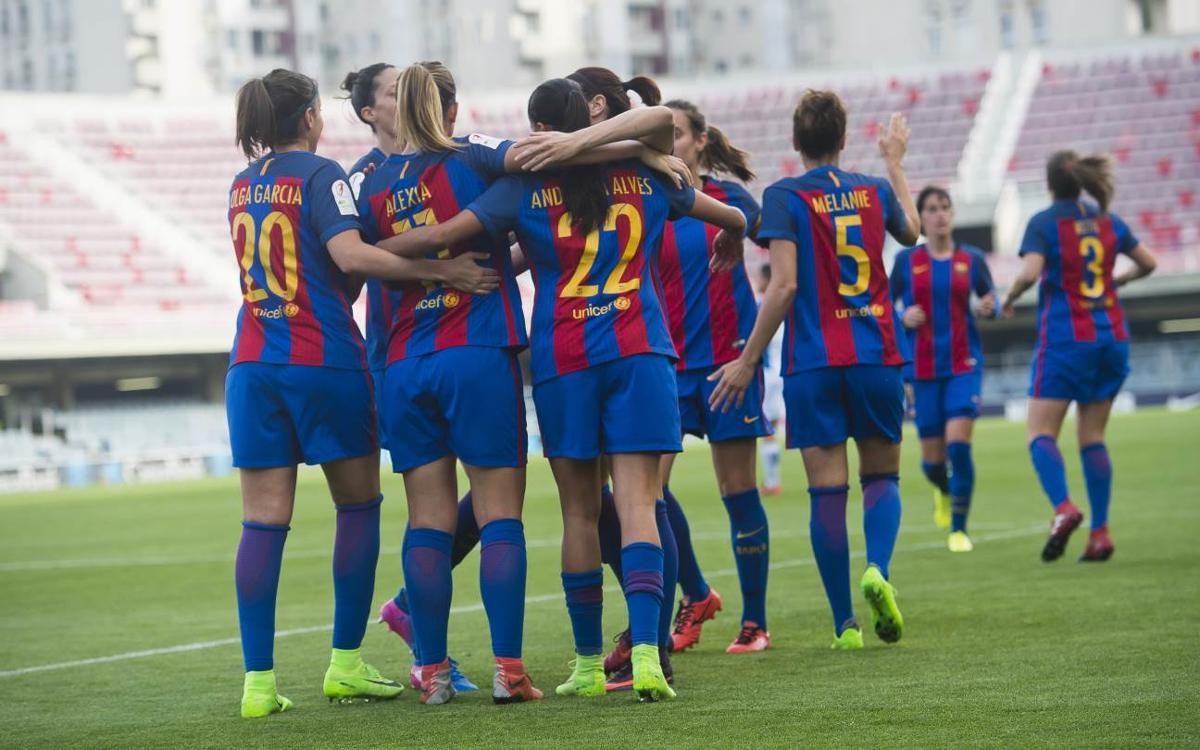 Barça Femenino - RCD Espanyol: Goleada y exhibición en el derbi (5-0)
