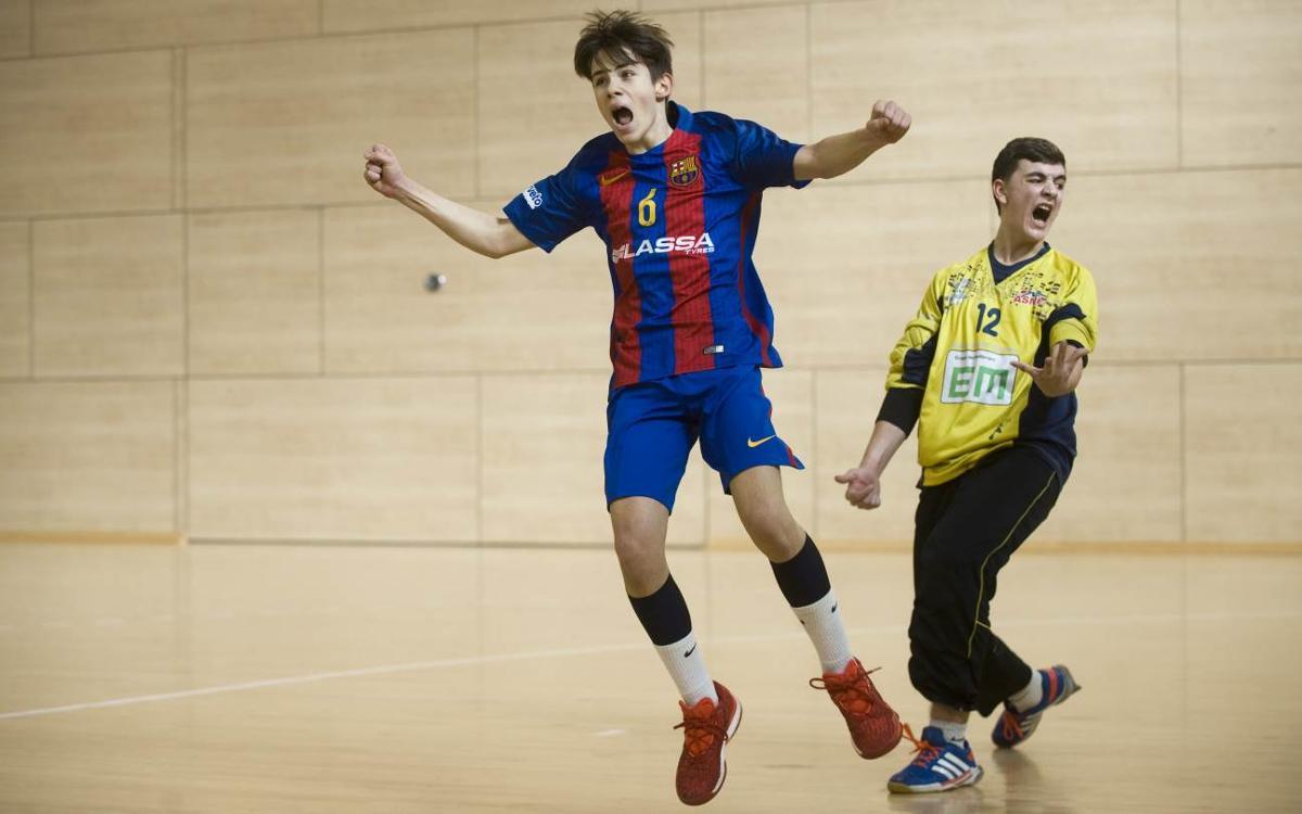 Los dos cadetes del Barça Lassa, a la fase final del Campeonato de España