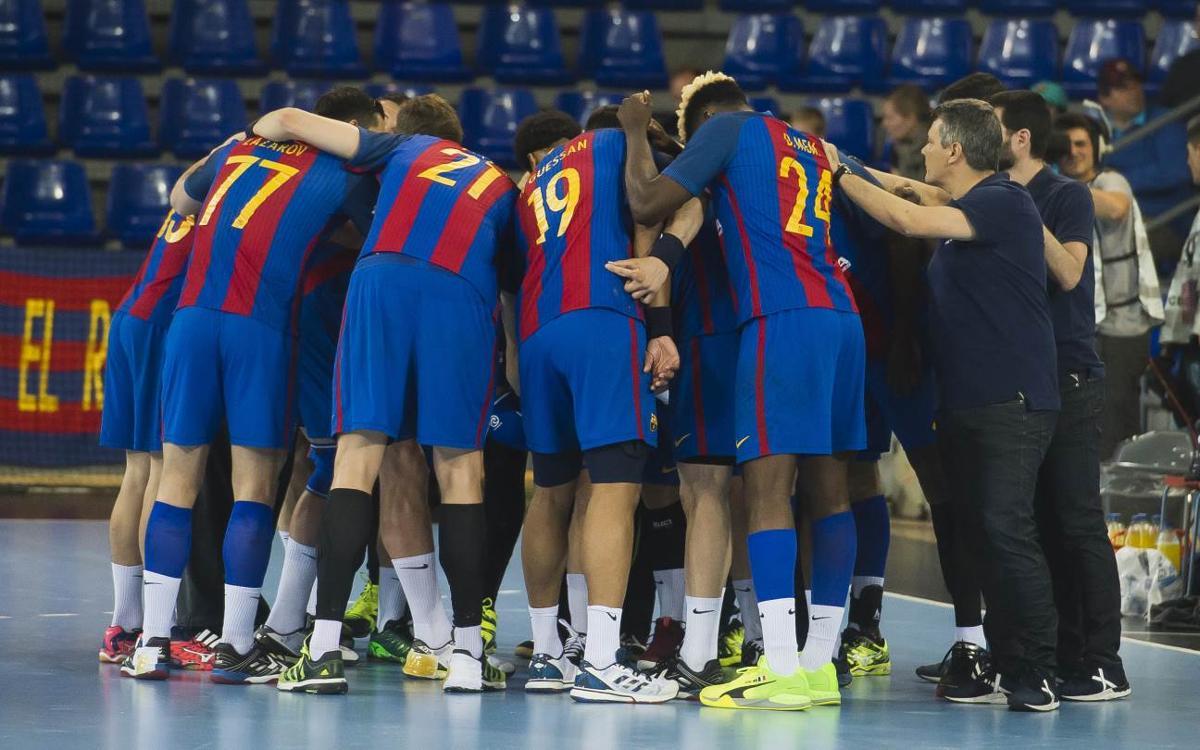 FC Barcelona Lassa – Ángel Ximénez-Avia Puente Genil: Celebración sin bajar la guardia