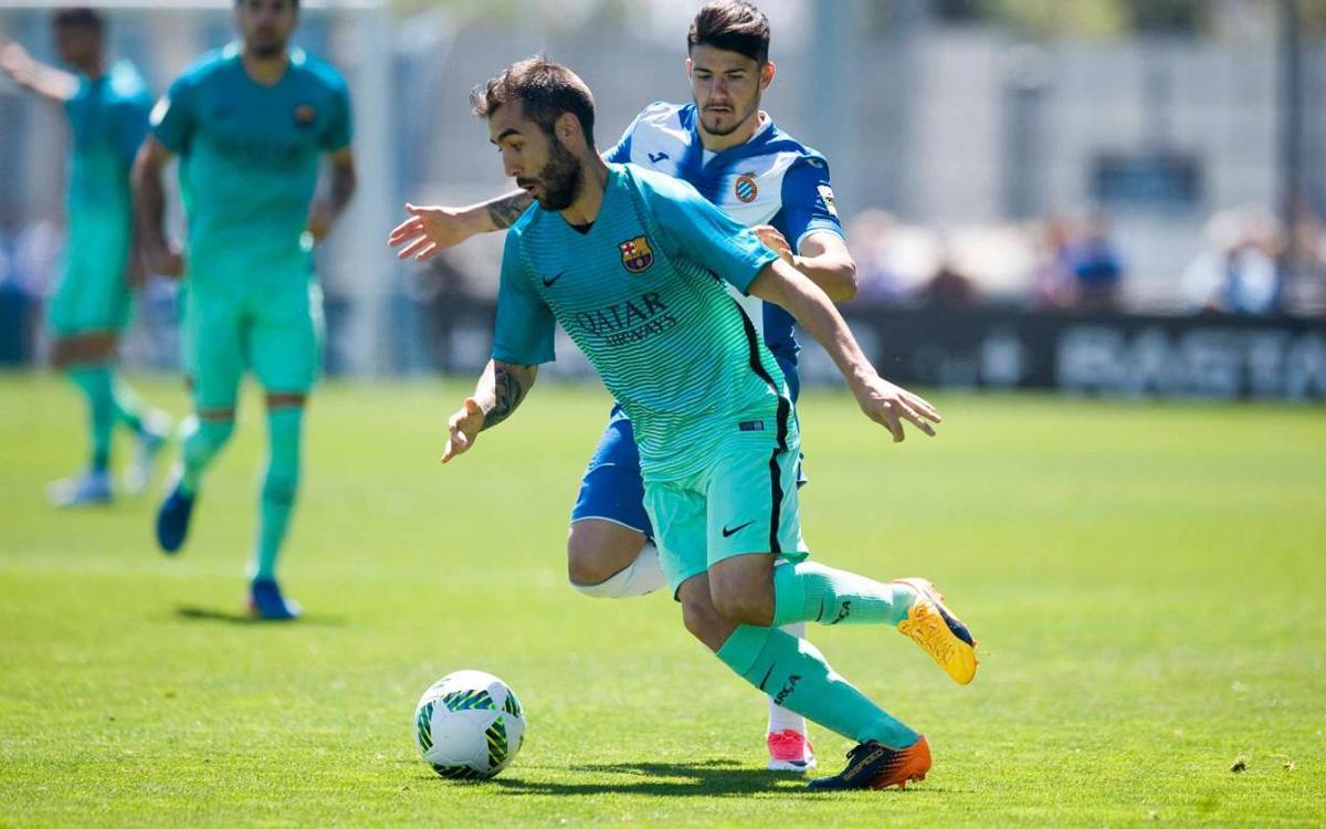 Espanyol B – Barça B: Demostració d'orgull per endur-se el derbi de filials (0-2)