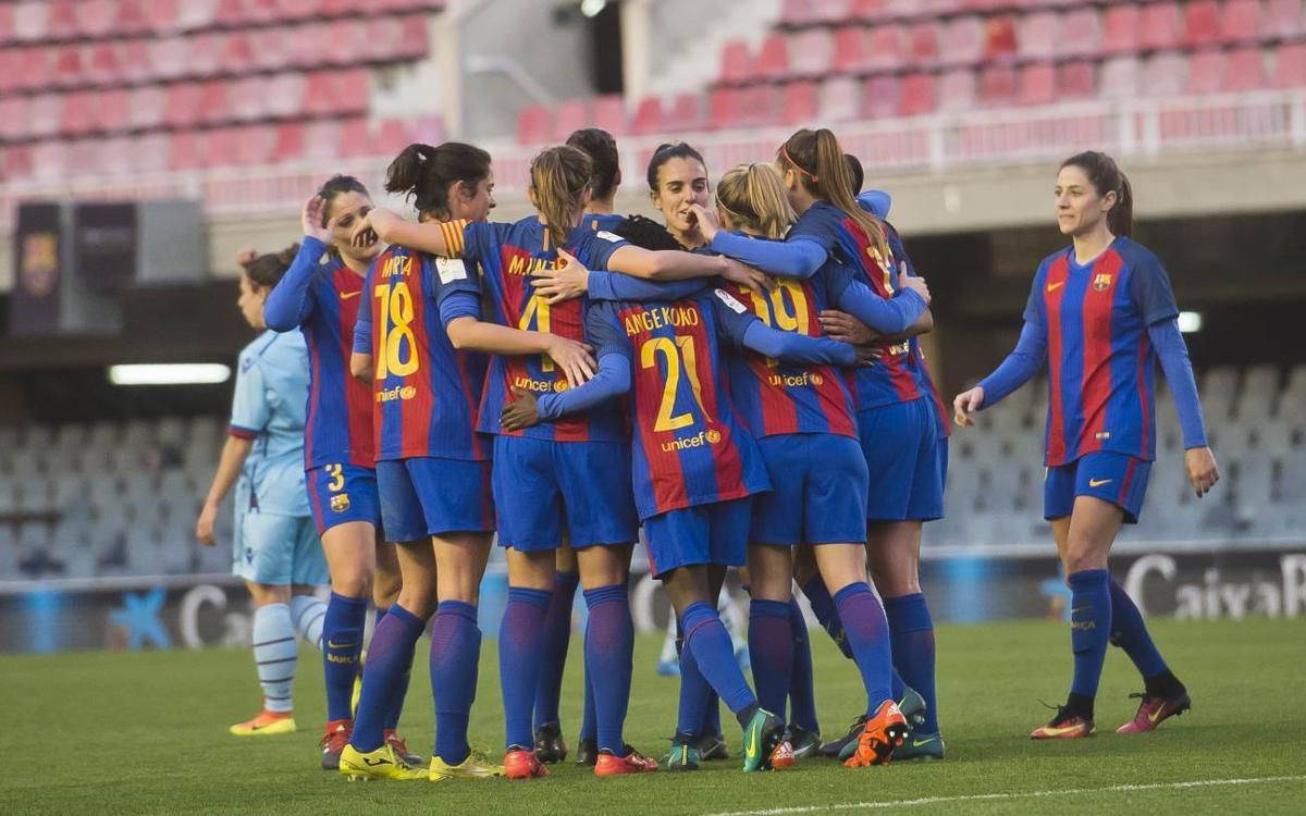 Barça Femenino – Levante UD: Goleada completa y coral (4-0)