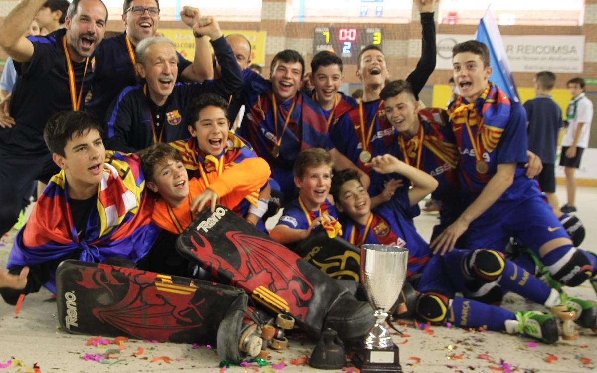 ¡El Alevín se proclama campeón de España!