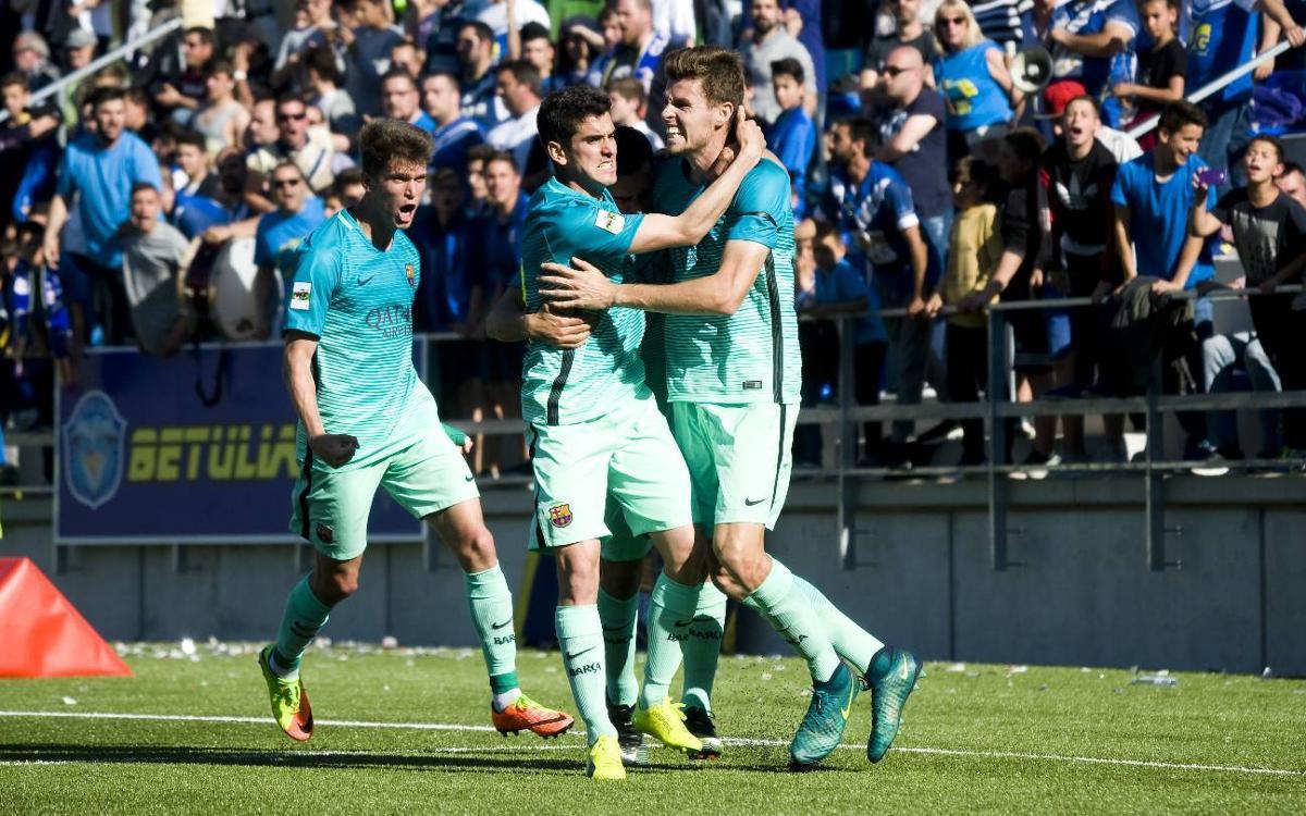 La millor ratxa de la temporada del Barça B
