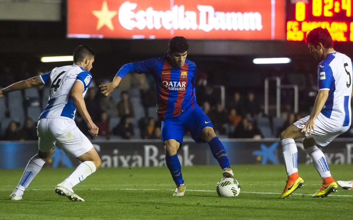 Match Report: Espanyol B v Barça B: Reserves secure Barcelona derby win (0-2)