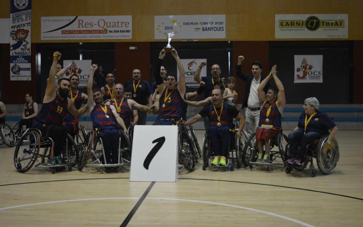 El UNES FC Barcelona, campeón de la Copa Catalunya!