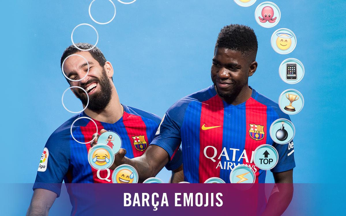 Barça emojis: Umtiti y Arda