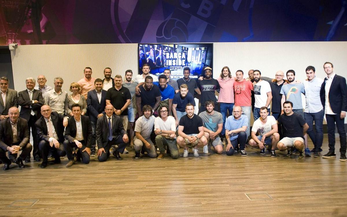 Preestreno del documental 'Barça Inside, los secretos de un vestuario ganador'