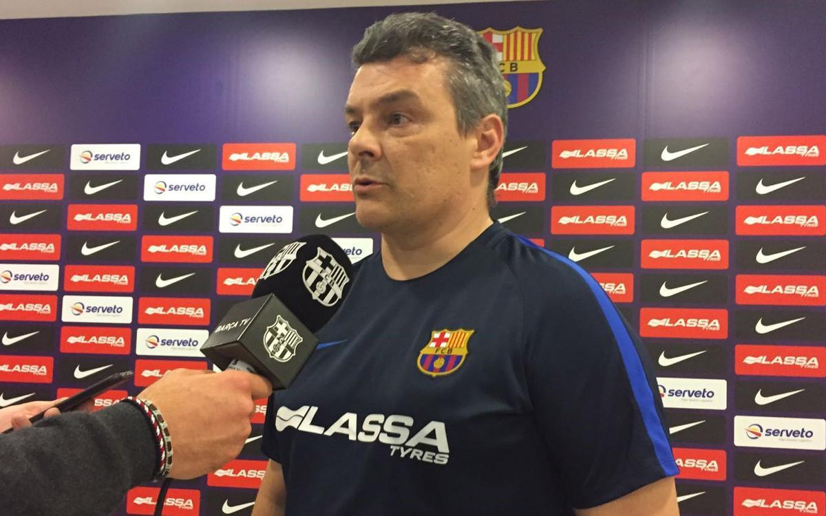 """Xavi Pascual: """"Després dels partits de seleccions sempre és complicat tornar"""""""