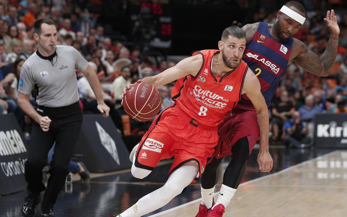 Valencia Basket v FC Barcelona Lassa: Bitter ending (67-64)