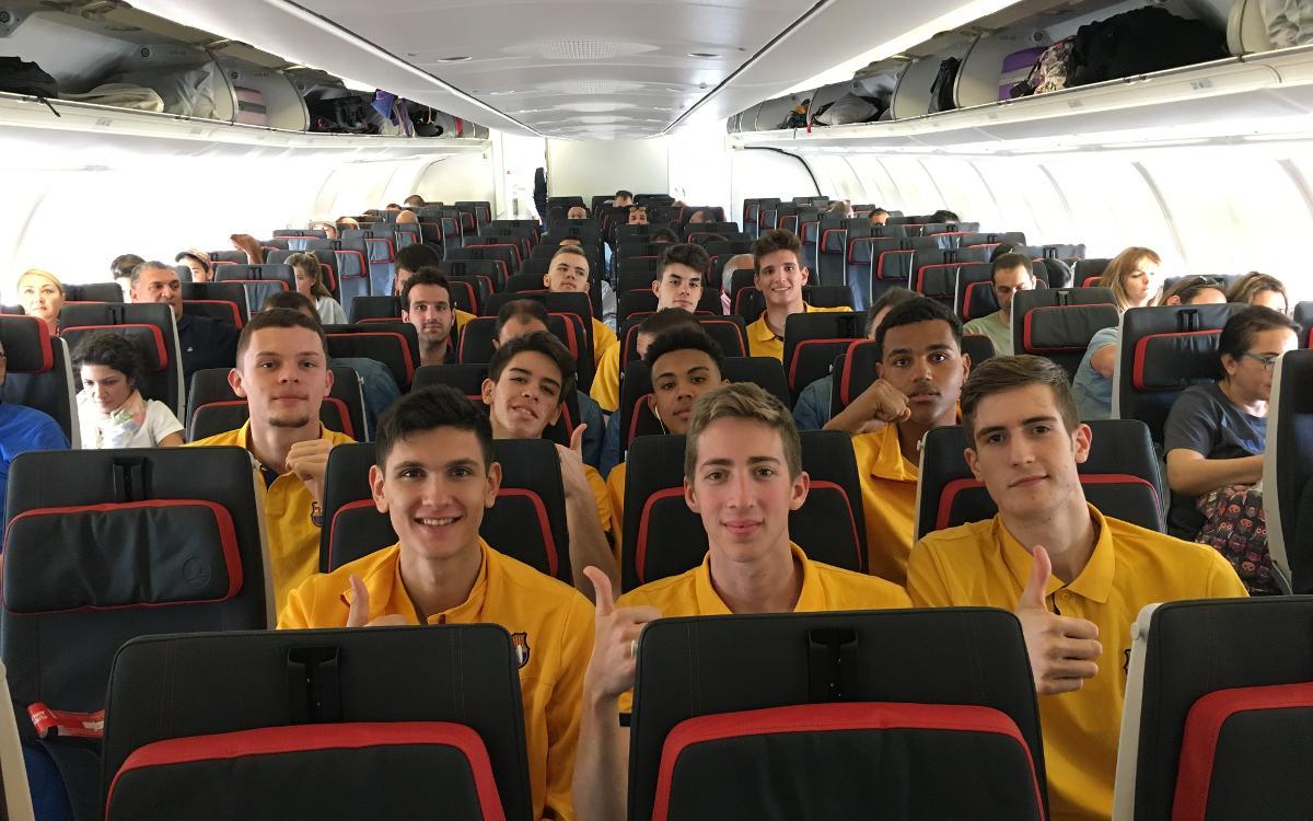 El Barça Lassa júnior ja és a Istanbul per disputar el Next Generation Tournament