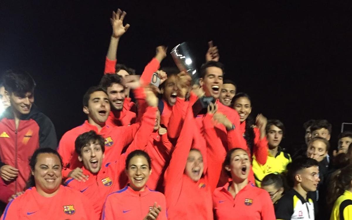 El Barça revalida el Campionat de Catalunya de Clubs