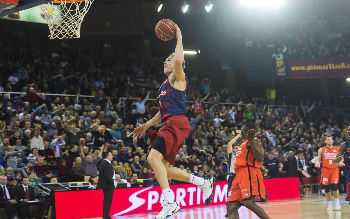 FC Barcelona Lassa - València Basket: Sense marge d'error possible