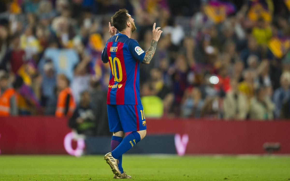 Fourth Golden Shoe for Leo Messi
